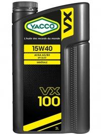 VX 100 15W40